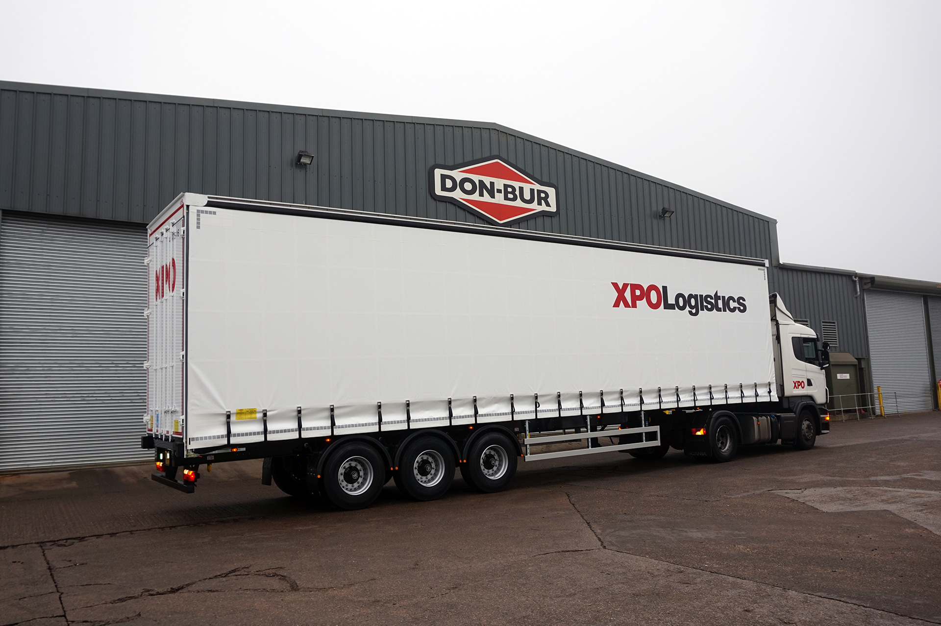 XPO Curtainsided Trailer