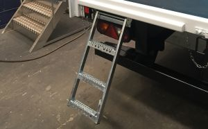 3 Rung Pull-Out Drop-Down Step photo