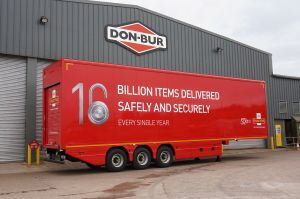 Royal Mail Lifting Double Deck Trailer