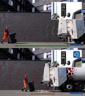 Wabco TailGUARD: Rear blind spot detection system photo