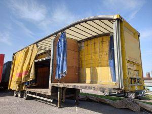 2010 Don-Bur Tri-Axle Curtainsided Ratchet Deck Trailer
