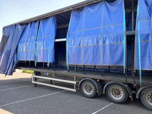 2017 Cartwrights Wedge Fixed Double Deck Curtainsider