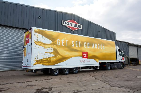 Argos Fixed Double Deck Box Van Trailer