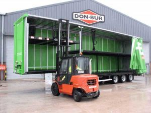 Homebase Curtainsider Double Deck with Extra Ratchet Deck