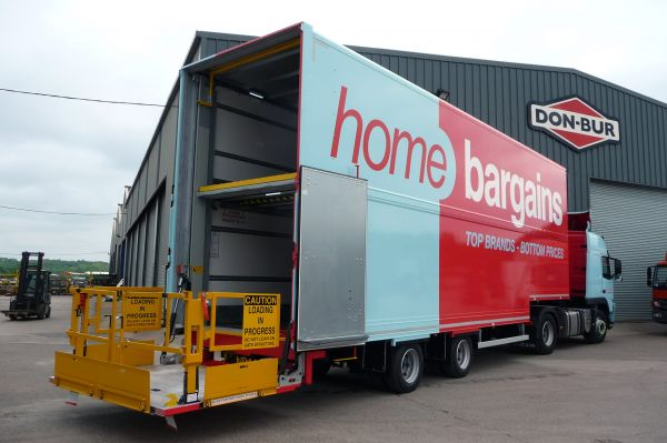 TJ Morris Double Deck Trailer with Two-Tier Tail Lift